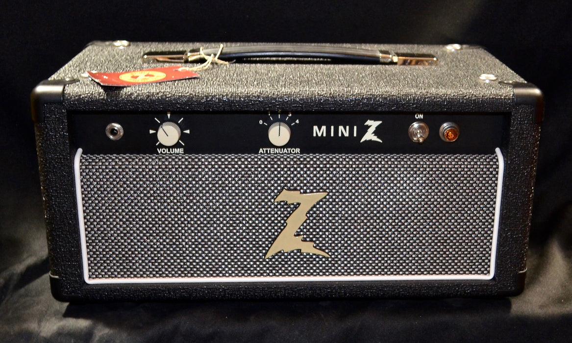 Dr Z Mini Z Head EL84 Tube Amp Black