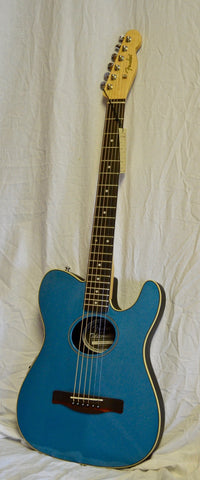 Fender Standard Telecoustic Acoustic-Electric Guitar Lake Placid Blue
