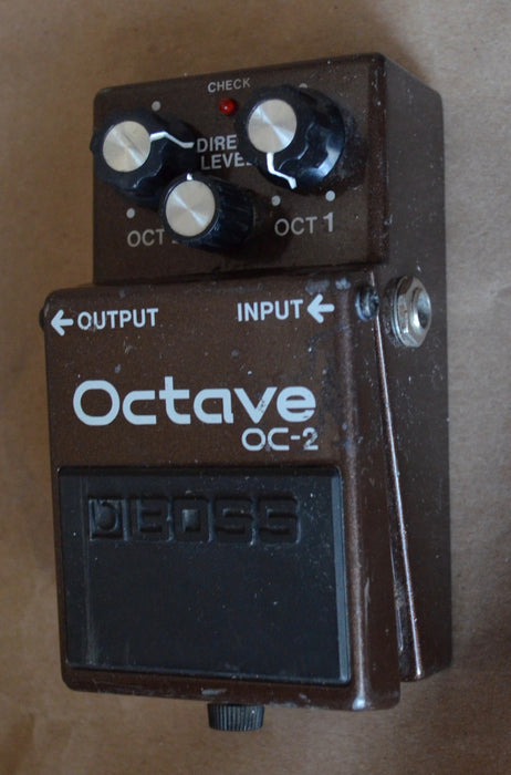Used Boss OC-2 Octave Guitar Effect Pedal