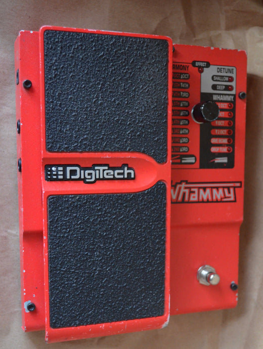 Used Digitech Whammy Harmonist Guitar Effect Pedal