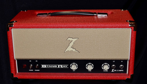 Dr Z Stang Ray Stangray 30 Watt EL-84 Tube Head Red