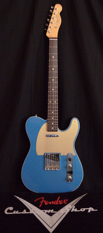 "Fender Custom Shop ""Bell, Book & Candle"" 1960 Telecaster Custom NOS Rosewood Lake Placid Blue"