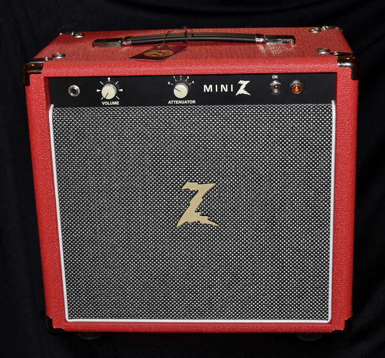 Dr Z Mini Z 1x10 Combo EL84 Tube Amp Red