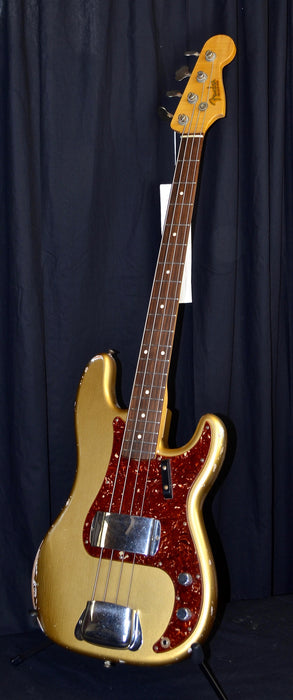 Fender Custom Shop '64 Relic Precision Bass Aztek Gold