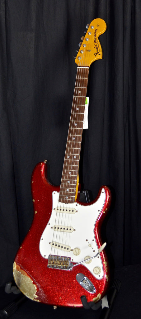 Fender Custom Shop 1968 Heavy Relic Stratocaster Red Sparkle