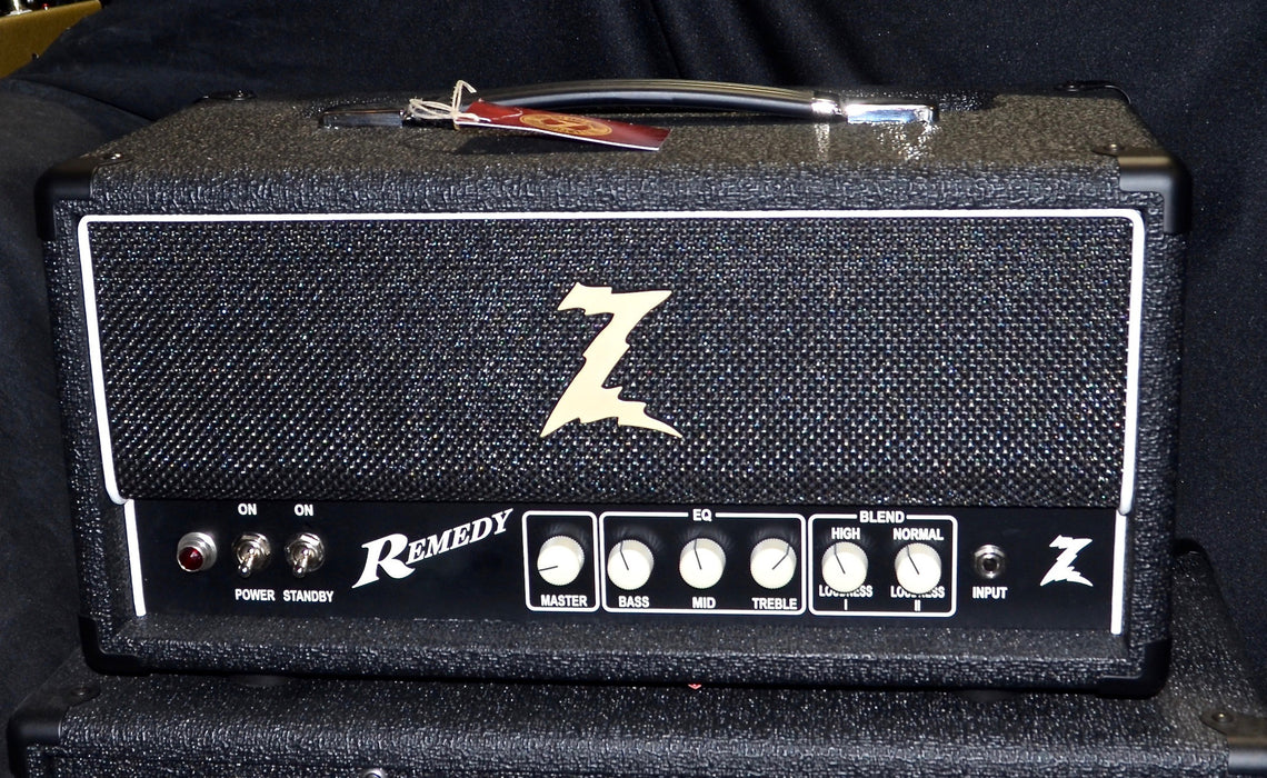 Dr Z Remedy 40 Watt 6V6 Tube Amp Head Black