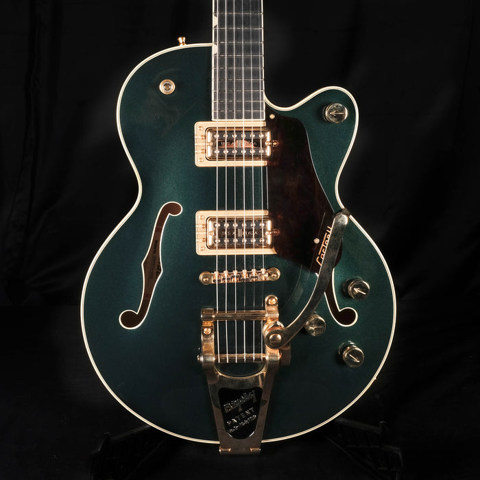 Pre Owned Gretsch G6659TG Players Edition Broadkaster Jr. Center Block Cadillac Green Bigsby OHSC