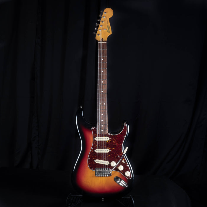 Used Squier Classic Vibe 60s Stratocaster Sunburst Electric Guitar With Bag