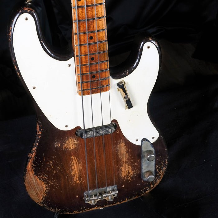 Fender Custom Shop Masterbuilt Vincent Van Trigt 1955 Precision Bass Heavy Relic 2-Tone Sunburst