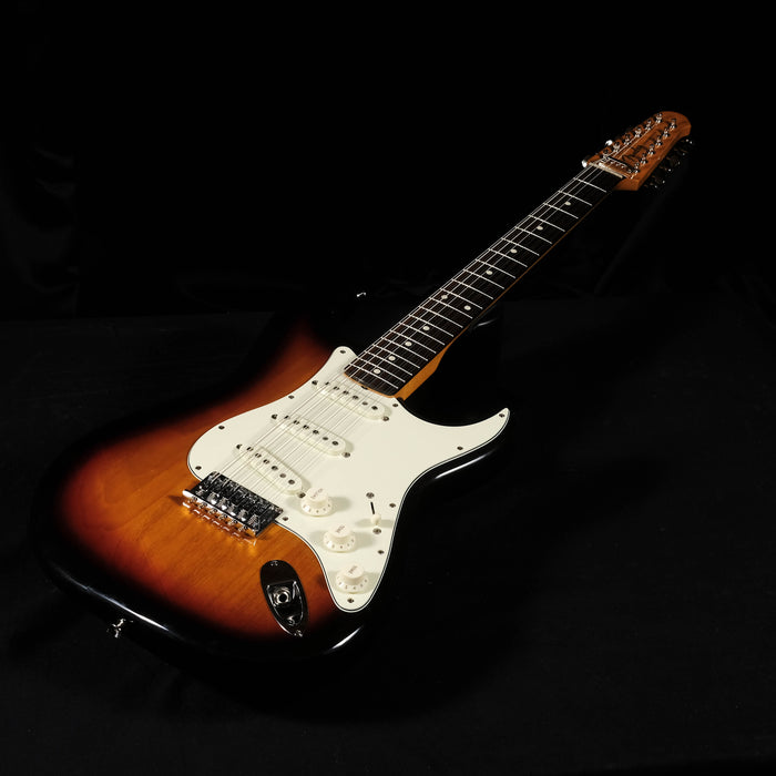 Used 2012 Fender Made In Japan Traditional Stratocaster XII Electric Guitar w/ OHSC MIJ