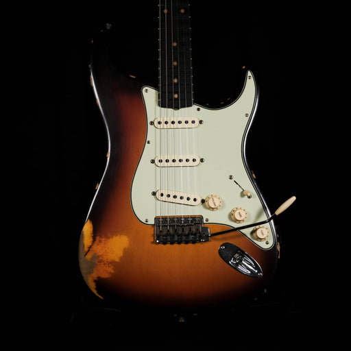 Fender Custom Shop Limited Edition Reverse Headstock '59 Stratocaster Relic Chocolate Sunburst With Case