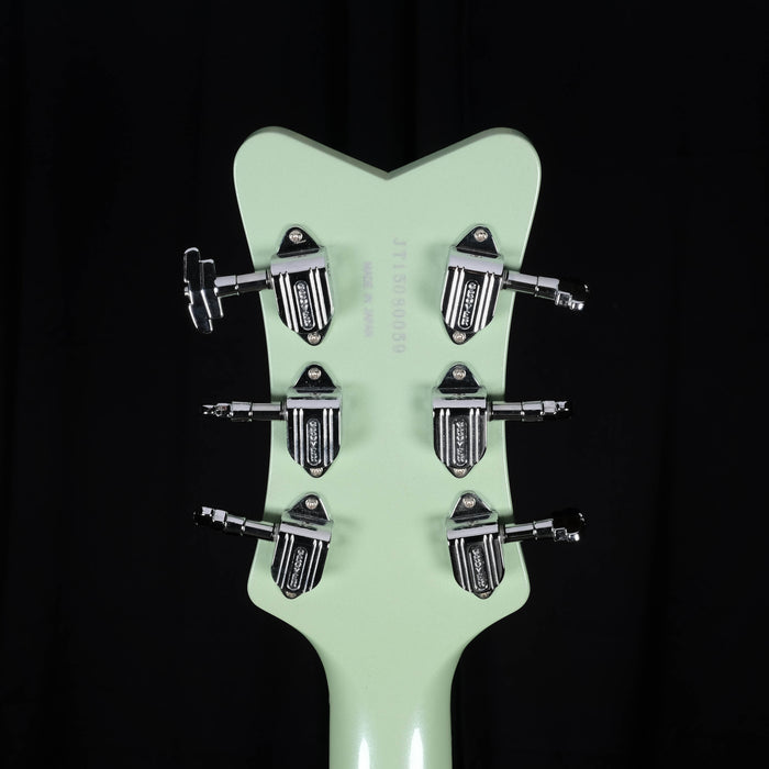 Pre Owned Gretsch G6134TDC-LTD15 Penguin Broadway Jade Green Electric Guitar OHSC