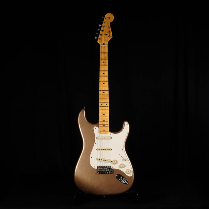 Fender Custom Shop Limited Custom '50s Stratocaster Journeyman - Aged Firemist Gold With Case