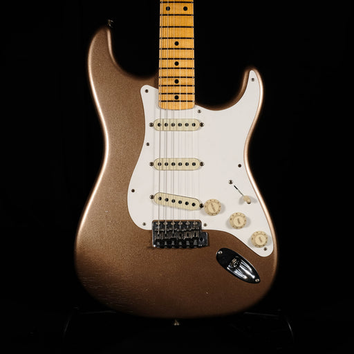 Fender Custom Shop W19 Limited Custom '50s Stratocaster Journeyman - Aged Firemist Gold With Case