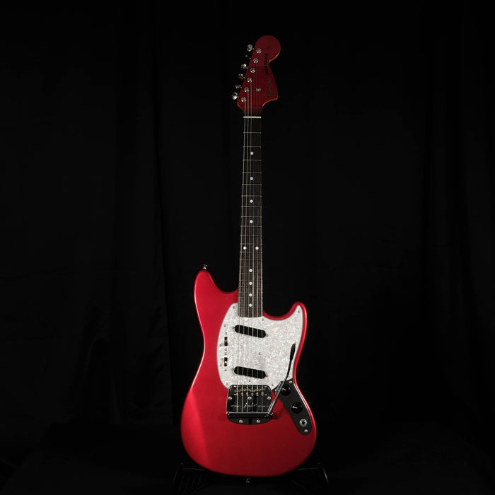Used '12 Fender Japan Mustang Candy Apple Red Matching Headstock MIJ With Bag