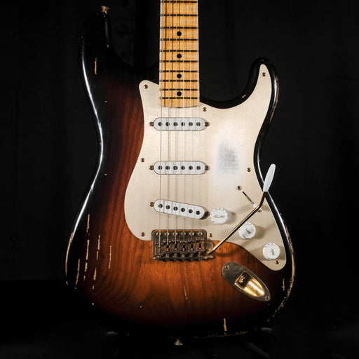 Pre Owned '14 Limited Edition Fender Custom Shop Heavy Relic Golden 50s Stratocaster Sunburst