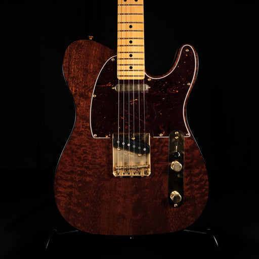 Fender Rarities Red Mahogany Top Telecaster Maple Neck - Natural With Case