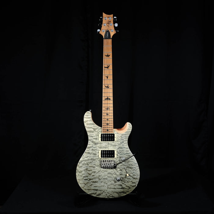 PRS SE Custom 24 Roasted Maple Limited - Trampas Green With Bag