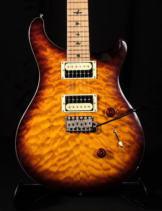 PRS SE Custom 24 Roasted Maple Limited - Tobacco Sunburst With Bag