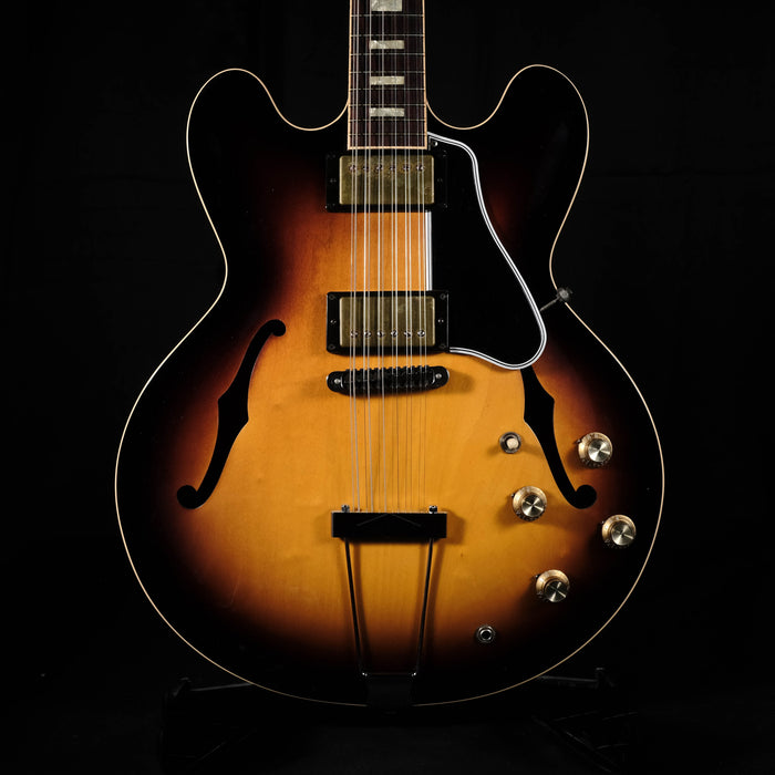 Pre Owned '13 Gibson ES-335 Limited Edition 12 String Vintage Sunburst OHSC CofA RARE!