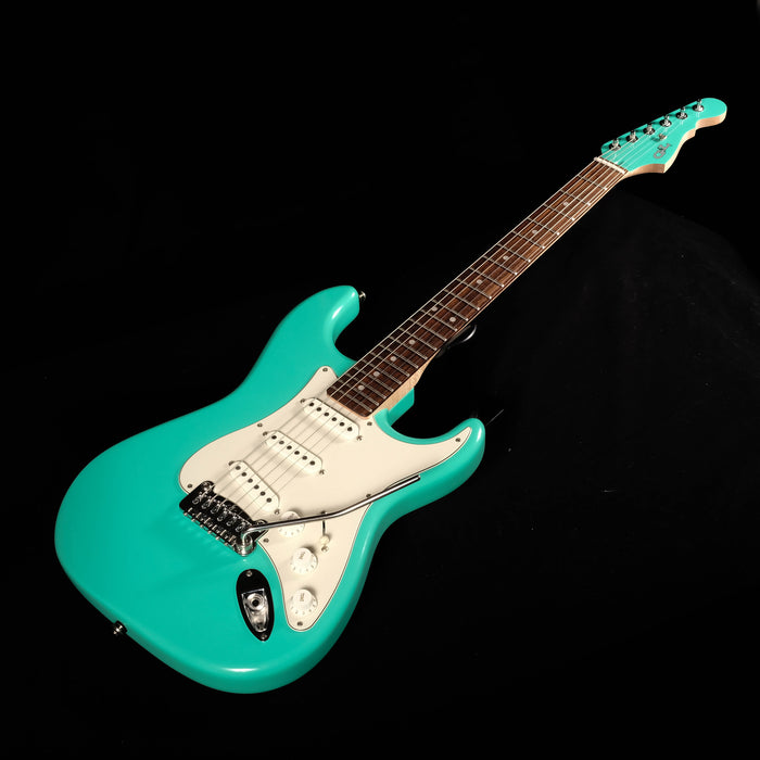 Used USA G&L Custom Legacy Seafoam Green Electric Guitar With OHSC