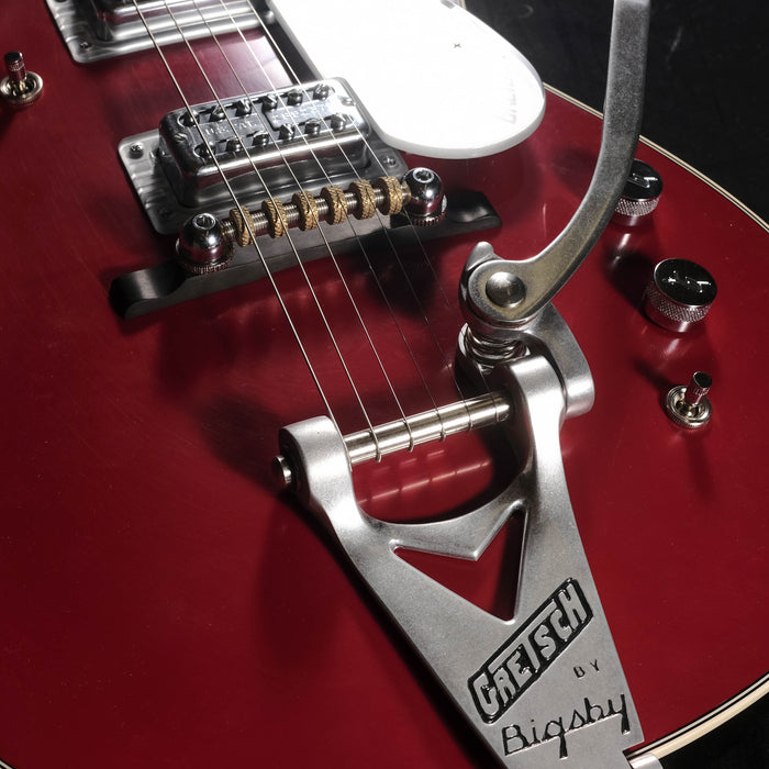 Gretsch Custom Shop Masterbuilt Stephen Stern G6131TCS 62 Firebird Jet Firebird Red