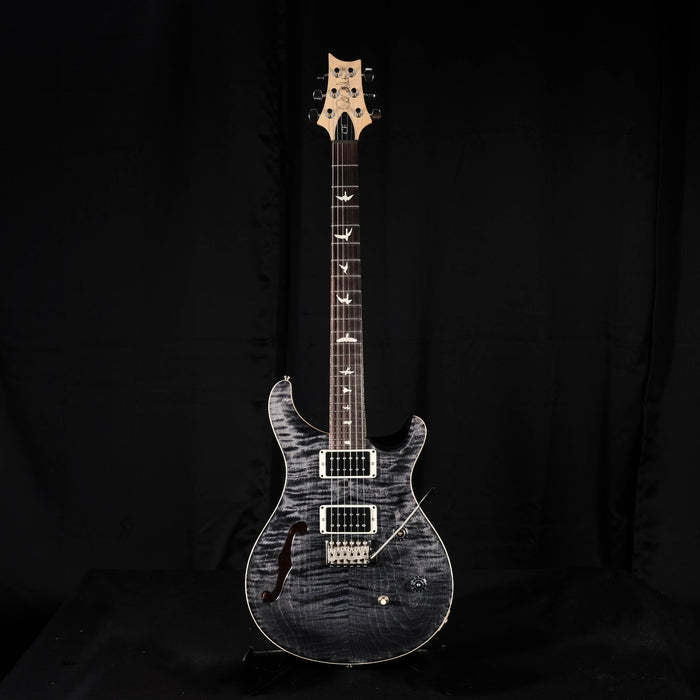 PRS CE 24 Semi-Hollow Gray Black Electric Guitar With Gig Bag