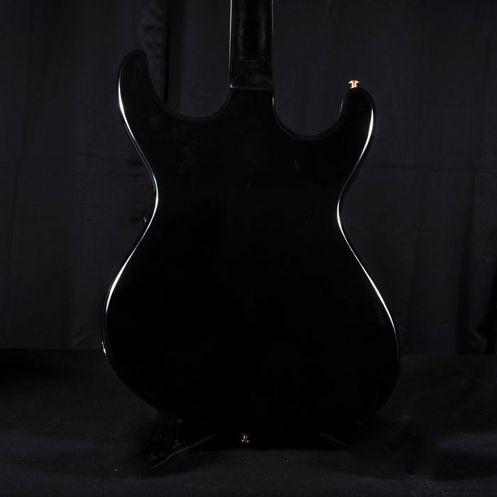 Used Eastwood Sidejack Baritone Deluxe - Black With Bag
