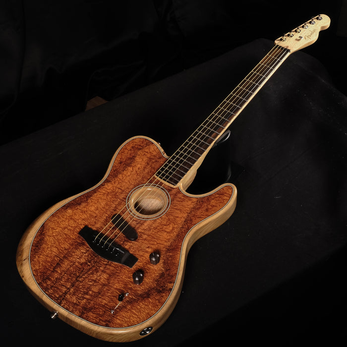 Fender Limited Edition American Acoustasonic Telecaster - Koa With Case