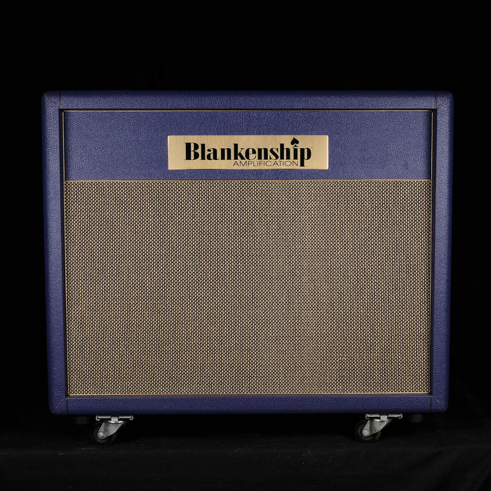"Used 2008 Blankenship Leeds 21 Tube Tremolo Guitar Amplifier Head With 2x12"" Cabinet"
