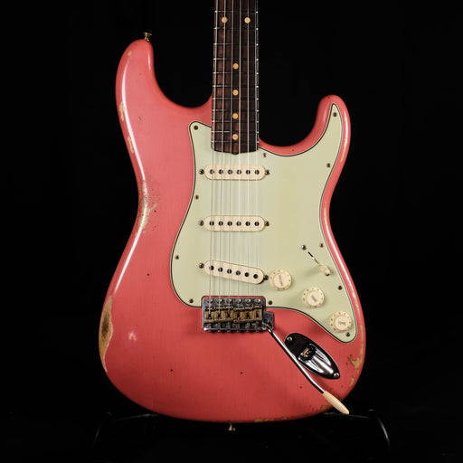 Fender Custom Shop Limited Edition 1960 Stratocaster Relic Faded Tahitian Coral Electric Guitar