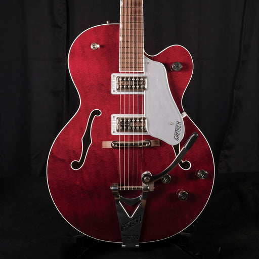 Used '16 Gretsch G6119T Players Edition Tennessee Rose Bigsby Dark Cherry Stain OHSC