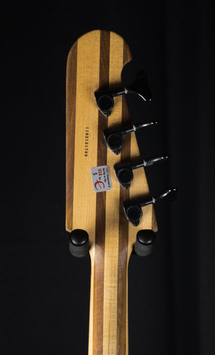 Used Epiphone Thunderbird Pro IV Natural Oil Bass Guitar