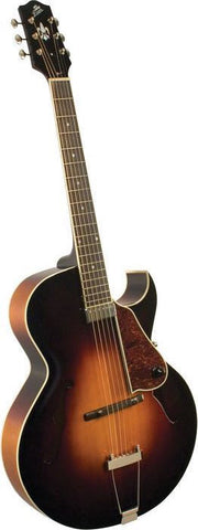 The Loar LH-350 Archtop Cutaway Hollowbody Guitar Sunburst