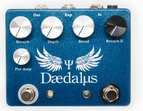 Coppersound Effect Pedals Daedalus Reverb Guitar Effect Pedal