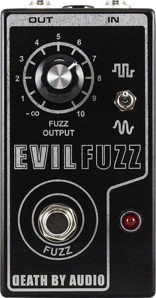 Death By Audio Evil Fuzz Guitar Effect Pedal - Limited Run!