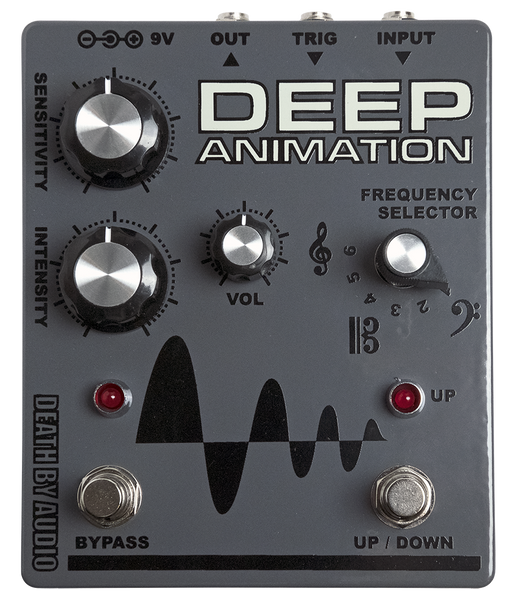 Death By Audio Deep Animation Filter Guitar Pedal