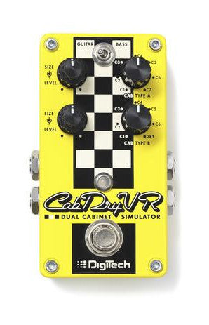 DigiTech CabDryVR Pedal Guitar Effects Pedal