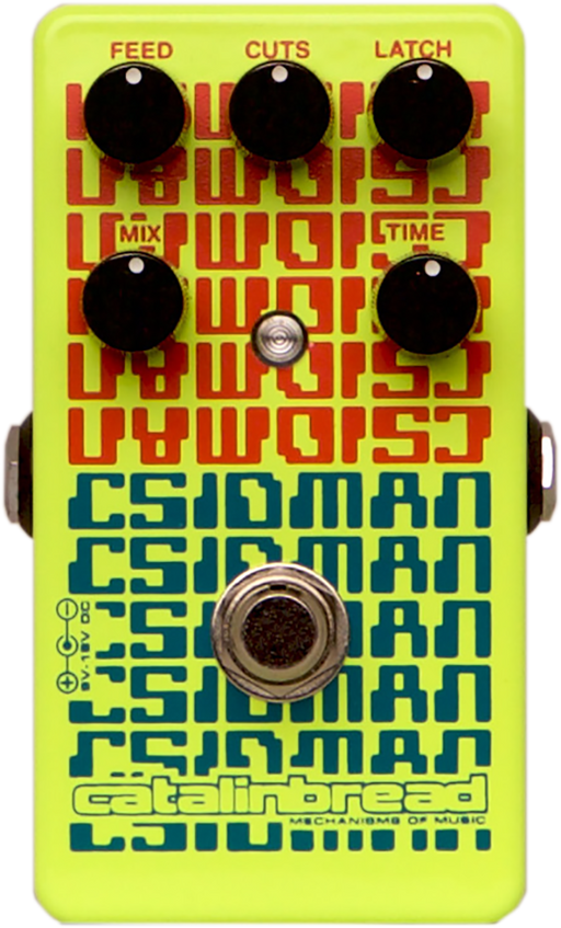 Catalinbread CSIDMAN Digital Delay Pedal Glitch/Stutter Effect Pedal