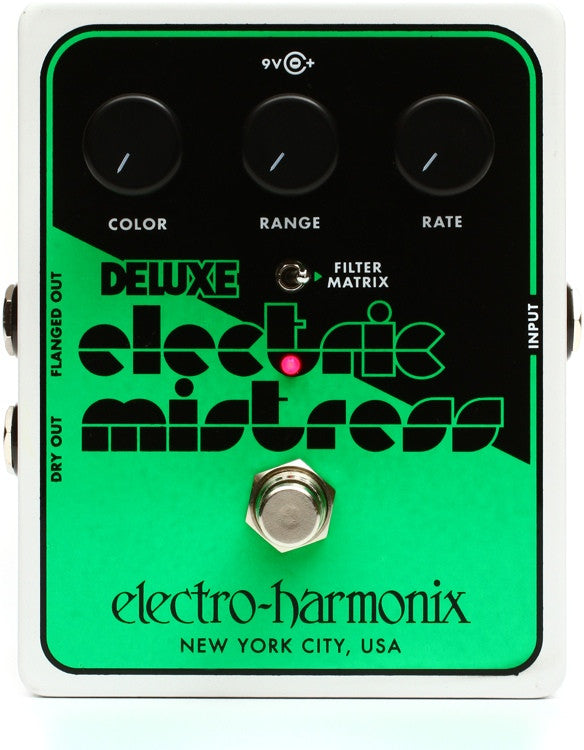 Electro-Harmonix Deluxe Electric Mistress Analog Flanger Pedal