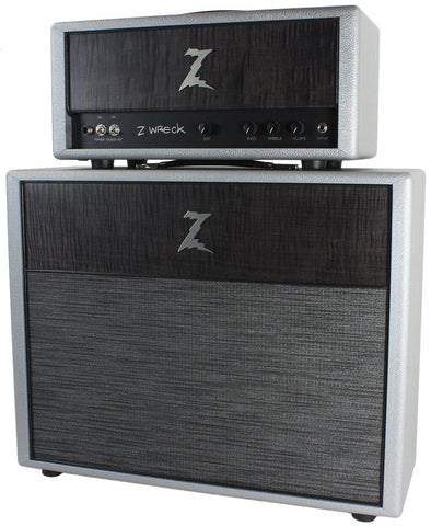 Dr Z Z Wreck Set 30 Watt EL-84 Tube Head and 2x12 Cabinet Quantum Silver