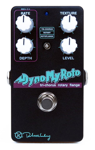"Keeley Dyno My Roto ""80's Tri Chorus, Rotoflange, Rotary Pedal"" Guitar Effect Pedal"