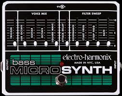 Electro-Harmonix Bass Microsynth Analog Synth Pedal