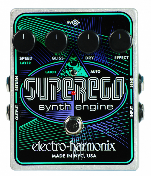 Electro Harmonix Superego Synth Engine Guitar Pedal