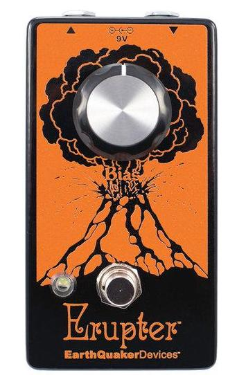 EarthQuaker Devices Erupter Fuzz Guitar Pedal