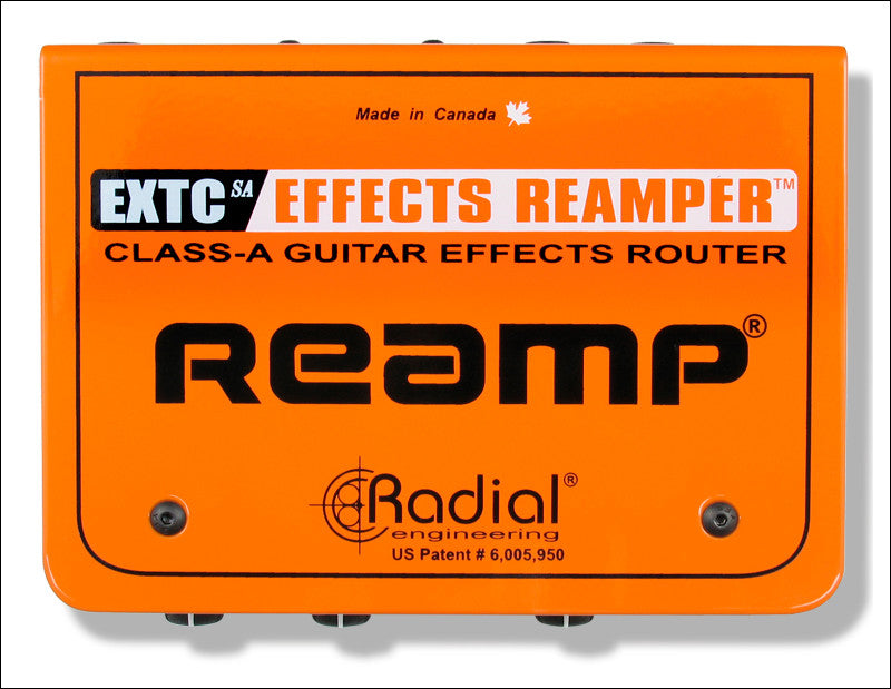 Radial Engineering EXTC-SA Reamp Guitar Effects Reamper