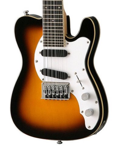 Eastwood Mandocaster 12 - Antique Sunburst