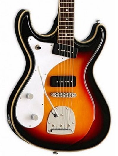 Eastwood Sidejack Deluxe Lefty - Sunburst Left Handed