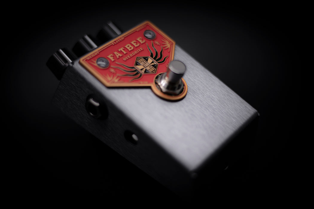BeetronicsFX BaBee Series Limited Edition Dark Grey Anodized FatBee Overdrive