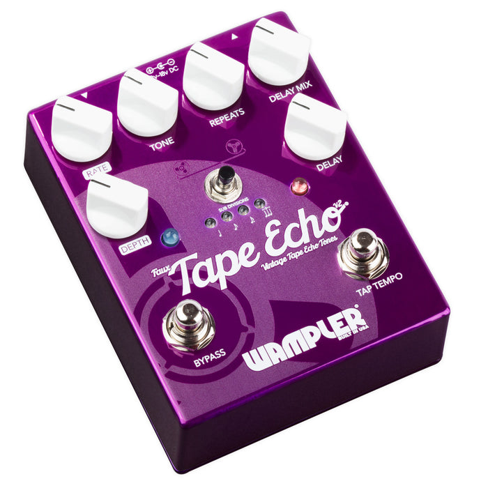 Wampler Faux Tape Echo V2 Delay Guitar Effect Pedal